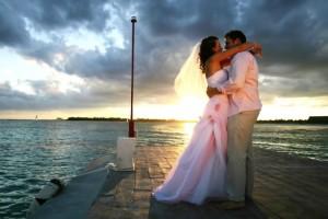 Романтическая свадебная съемка