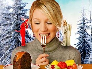 Как не набирать лишний вес  зимой