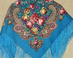 Павлово-посадские платки – все самое важное в узоре!