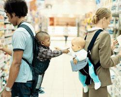 Шоппинг с ребенком