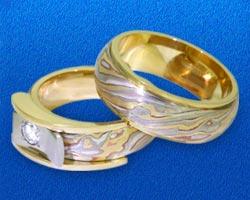 Обручальное кольцо. Оцениваем сияние бриллиантов