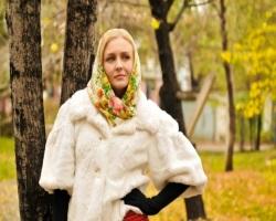 Платок и шуба: как правильно сочетать