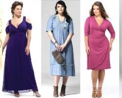 Выбор одежды и украшений полным женщинам