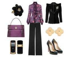 Создание образа бизнес-леди