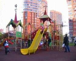 Площадка для активных малышей