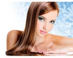 Выпрямляем волосы с помощью косметики