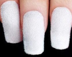 Как сделать ногти бархатными