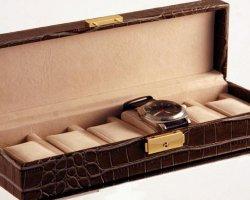 Идеальный подарок — шкатулка для часов