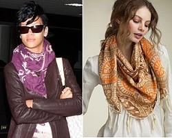 Выбираем модный платок для себя