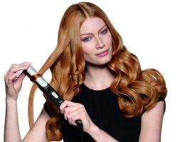 Как быстро завить волосы утюжком