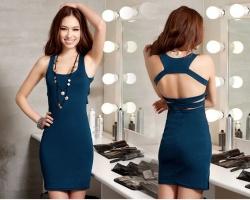 Стильная летняя одежда: платья с коротким рукавом