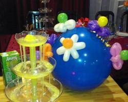 Оформление праздников шариками