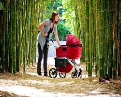 Прогулка с малышом: коляска или слинг