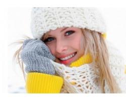 Уход за чувствительной кожей в зимний период