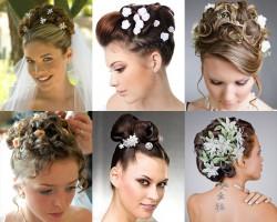 Аксессуары для волос невесты