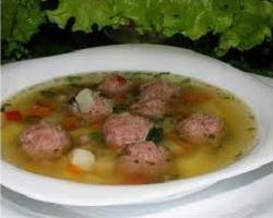 Рецепт супа с кефалью и гренками