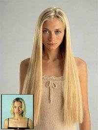 Накладные волосы: быть красивой – легко