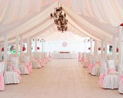 Шатры для проведения свадебных торжеств