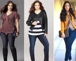 Как выбрать джинсы полным женщинам?