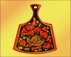 Хохлома — декоративное искусство на Руси