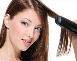 Особенности выпрямления вьющихся волос