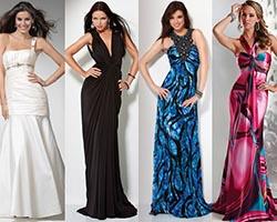 Как правильно подобрать длинное платье?
