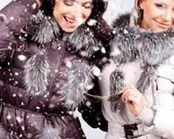 Зима — время покупать теплую одежду