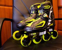 В чем польза катания на роликовых коньках